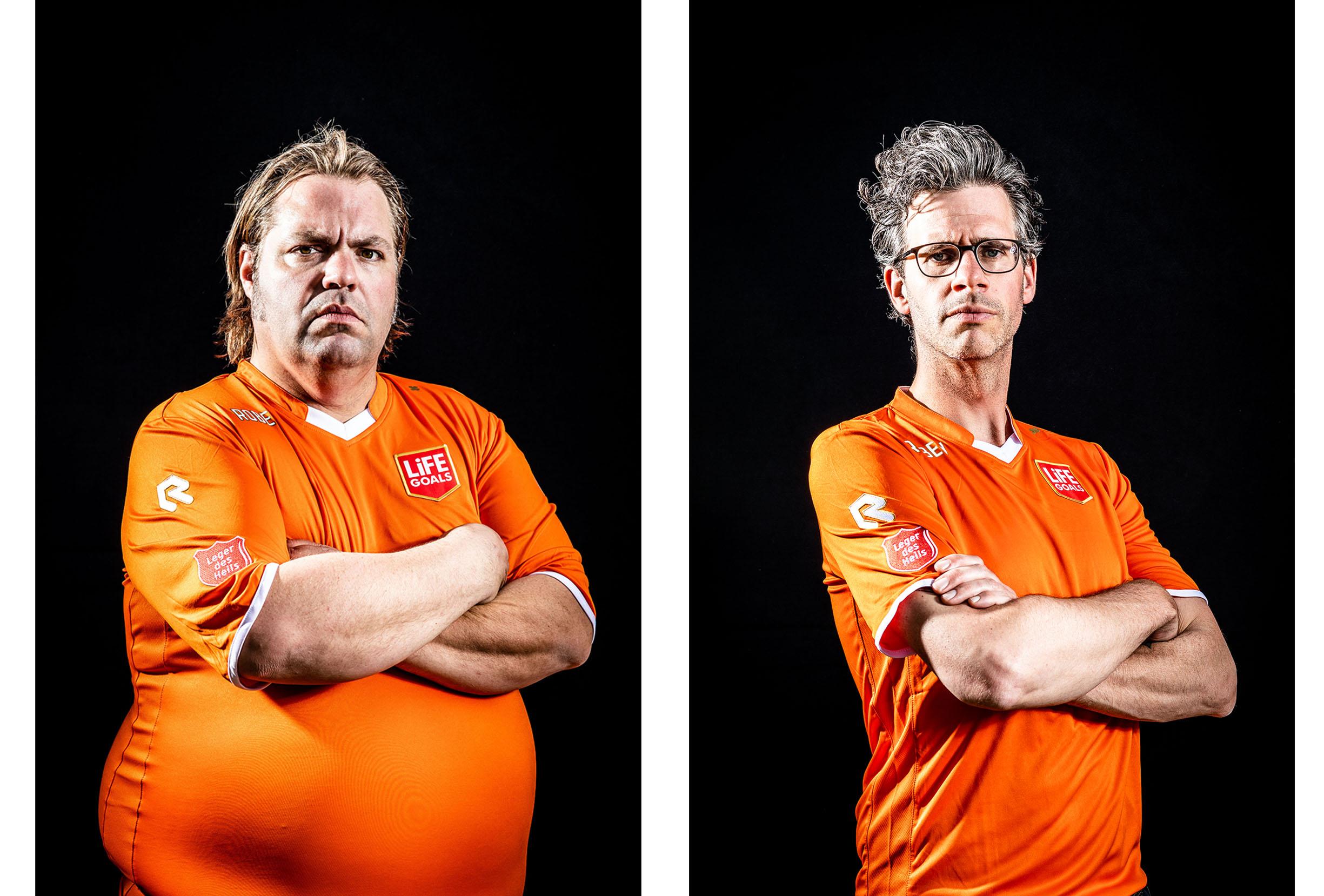 Erik Dijkstra and Frank Evenblijn by Karym Ahmed